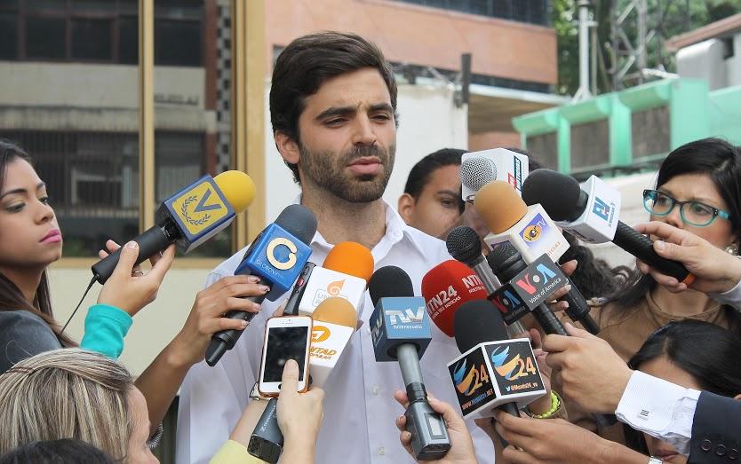 Dirigente de Voluntad Popular, Juan Andrés Mejía | Foto: archivo