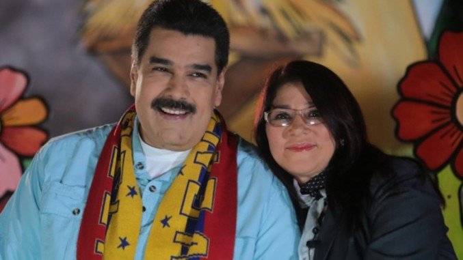 Nicolás Maduro y Cilia Flores | Foto: AVN