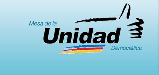 Mesa de la Unidad Democrática (MUD) |Foto referencial