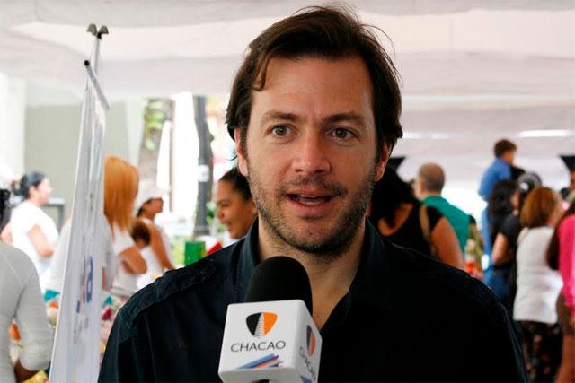 Ramón Muchacho, Alcalde de municipio Chacao | Foto referencial