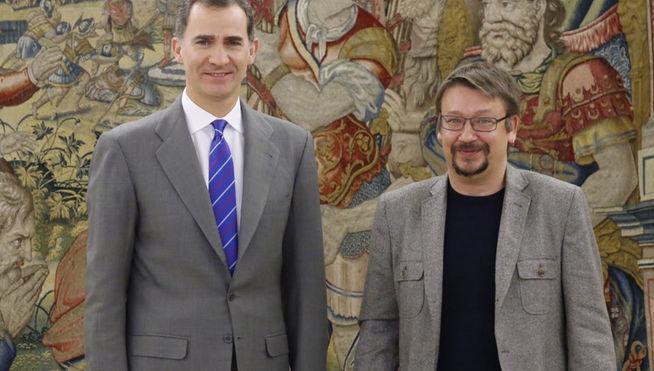 Rey Felipe VI continúa con las consultas presidenciales