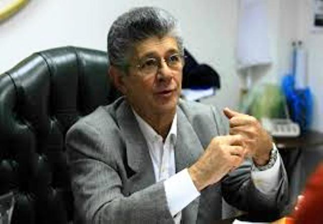 Henry Ramos Allup. Imagen referencial