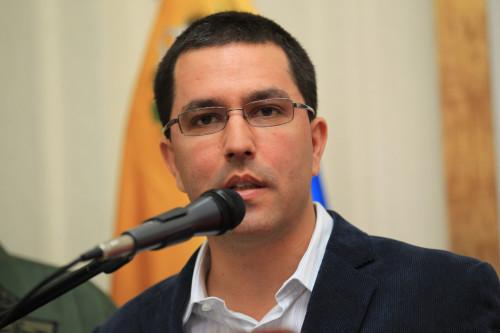 Canciller Jorge Arreaza | Foto: Archivo