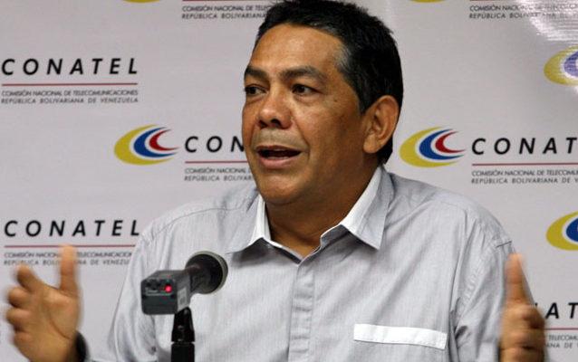D/G de Conatel, William Castillo | Foto: Archivo.