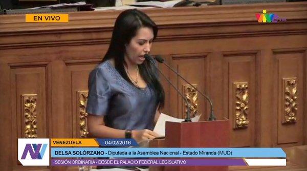 Delsa Solórzano| Foto: Captura de Pantalla