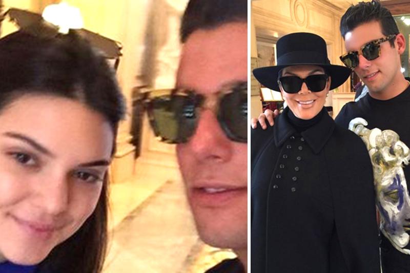 Con las Kardashian / Fotos: El Nacional.