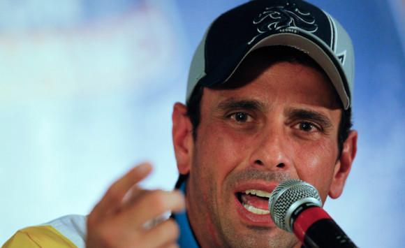 Henrique Capriles, Gobernador del estado Miranda   Foto: Archivo