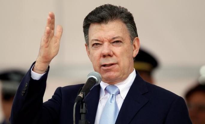 Juan Manuel Santos, presidente de Colombia | Foto: Archivo