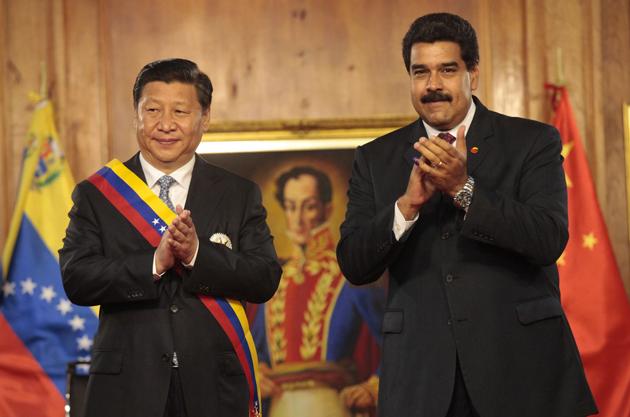 Nicolás Maduro junto a Xi Jinping Líder Chino