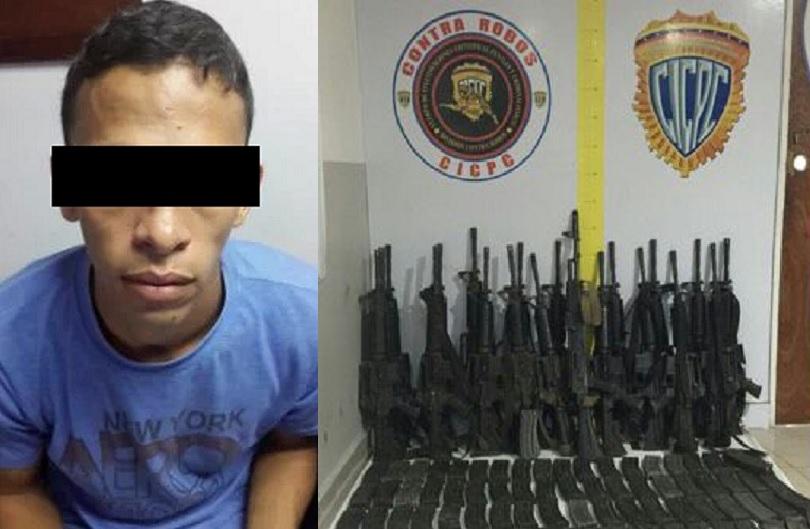 Detenido sargento de la guardia de honor tras robo de for La patilla nacionales