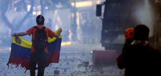 Represión en protestas del 2014 Venezuela quiere paz