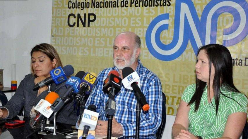 Presidente del Colegio Nacional de periodistas (CNP), Tinedo Guía | Foto: archivo