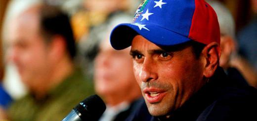 Capriles recibe el apoyo de los opositores