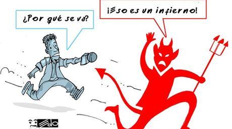 Caricatura de EDO