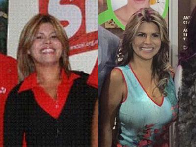 El antes y el después de la ex chavista/madurista y ahora pro imperio