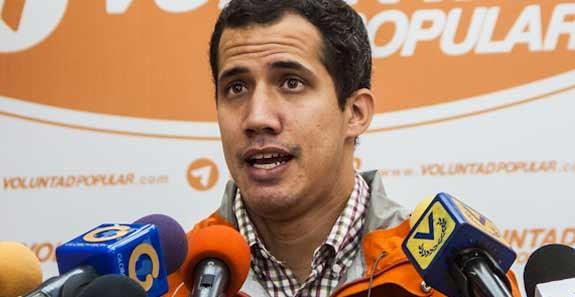 Diputado Juan Guaidó | Foto: Archivo