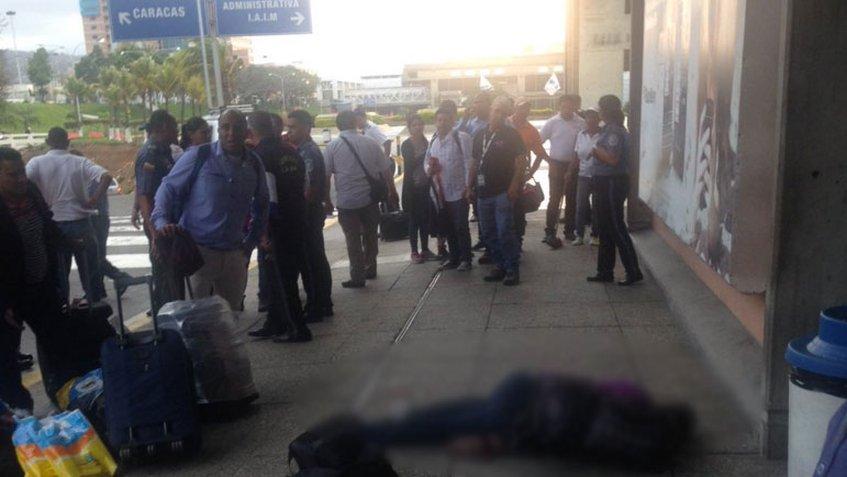 Egipcio muere a manos del hampa en el aeropuerto de Maiquetía