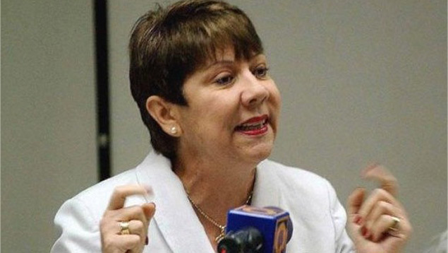 Cecilia García Arocha Rectora de la Universidad Central de Venezuela