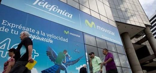 Empresa de telefonía celular, Movistar / Imagen de referencia