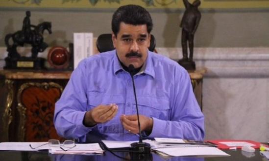 Presidente Nicolás Maduro desde Miraflores