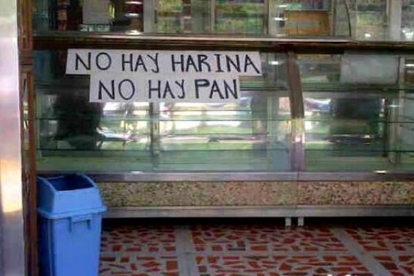 No hay harina, no hay pan |Foto referencial