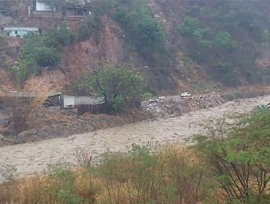 Carretera vieja Petare-Guarenas/Crédito: Venevisión