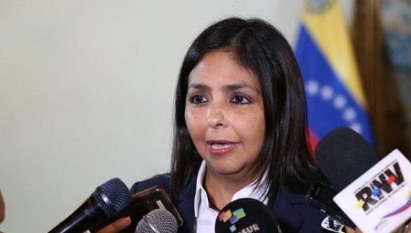canciller Delcy Rodríguez |Imagen de Referencia