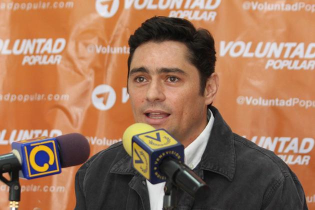 Coordinador Político de Voluntad Popular Carlos Vecchio |Foto: noticias24