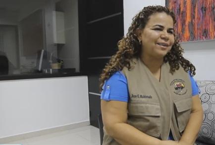 Ministra de Servicios Penitenciarios, Iris Varela| captura de Vídeo