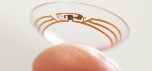 Google camara en lente de contacto| Foto: Patent Bolt,