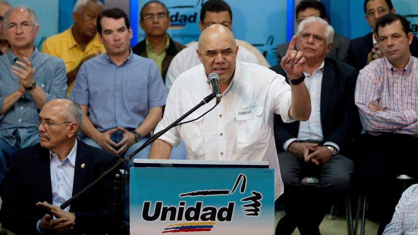 "Jesús ""Chúo"" Torrealba, secretario ejecutivo de la MUD | Foto: Archivo"