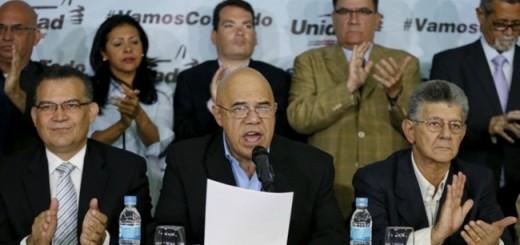 Mesa de la Unidad Democrática (MUD) | Foto: archivo
