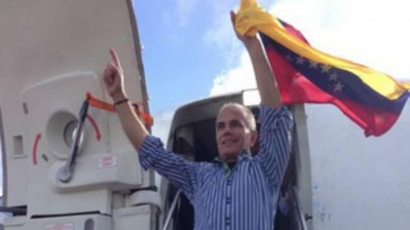 Liberaron a Manuel Rosales | Foto archivo