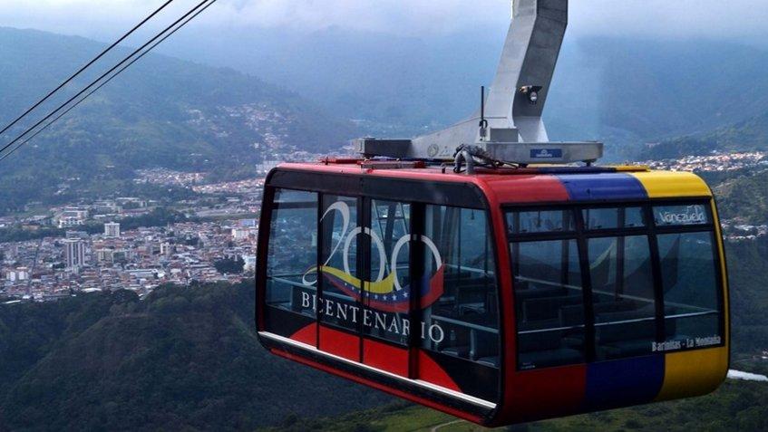 Teleférico de Mérida no prestará servicio por fallas eléctricas | Foto: Archivo