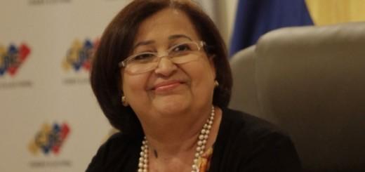 La presidenta del Consejo Nacional Electoral (CNE), Tibisay Lucena| Foto: La Patilla