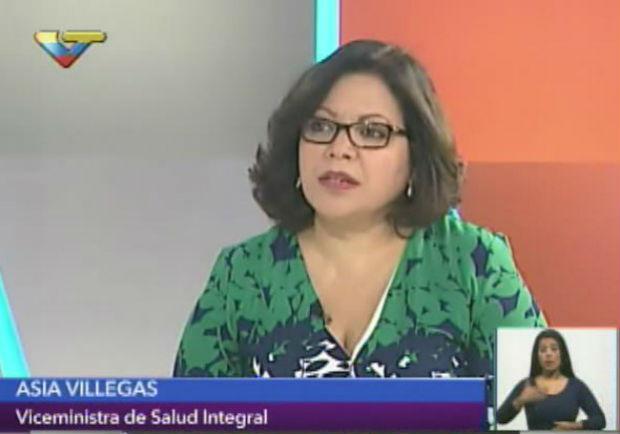 Viceministra Asia Villegas | Foto: archivo