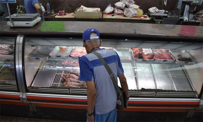 Precio del kilo de carne equivale al 67% de la quincena