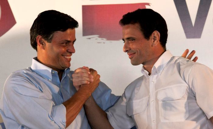Henrique Capriles y Leopoldo López | Foto: Archivo