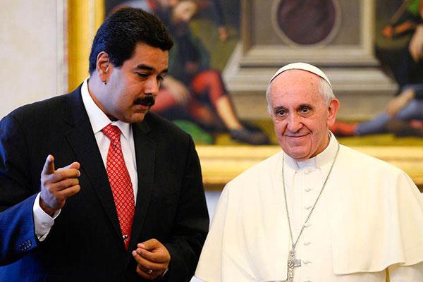 Papa Francisco está dispuesto a reunirse con gobierno y oposición | Foto: Agencias