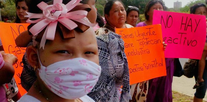 Familiares han denunciado en reiteradas oportunidades escasez de medicamentos | Foto: cortesía
