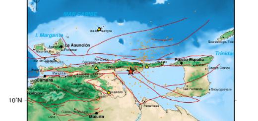 Sismo en Irapa de magnitud 4, 9