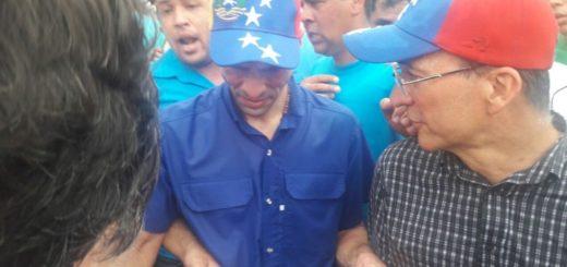Agredieron a Capriles Radonski|Foto de Twitter