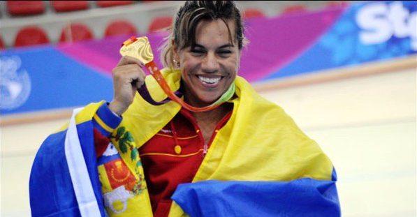 Daniela Larreal, Atleta venezolana | Foto: Twitter