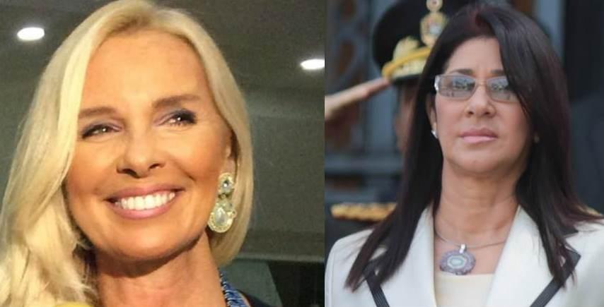 Diana D'Angostino cuestiona a Cilia Flores, primera dama