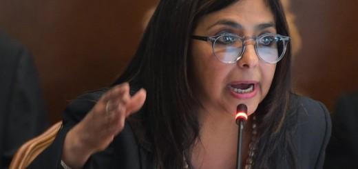 Delcy Rodríguez, canciller de la República de Venezuela| Foto: Archivo