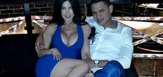 Diosa Canales y su esposo fueron detenidos