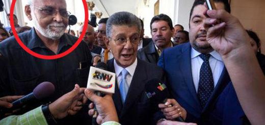 Jefe de seguridad de Ramos Allup, Ángel Coromoto Rodríguez /Crédito: EFE
