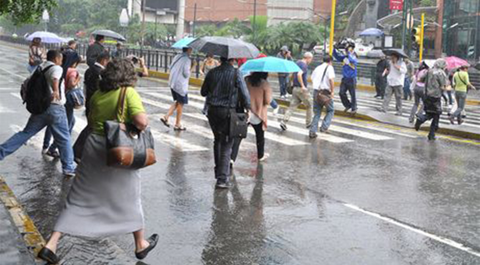 Inameh prevé precipitaciones de intensidad variable para este #13Sep | Foto referencia