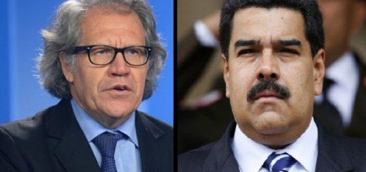Piden a Luis Almagro denunciar a Nicolás Maduro |Composición: Notitotal