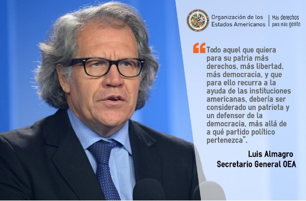 El Secretario de la OEA Luis Almagro